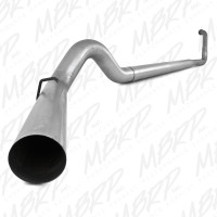 "MBRP 2003-2007 Ford F-250/350 6.0L 5"" PLM Series Turbo Back, Single Side - no muffler no tip"