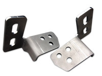 Tow Hook Eliminator Brackets - 11-15 Ford Super Duty