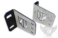 "Bumper Brackets for straight 40"" LED light bars - 11-15 Ford Superduty F250 F350"