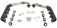 BD 6.4L Up Pipe and Manifold Kit