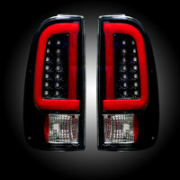 2008 - 2016 Recon Smoked LED Tail Lights