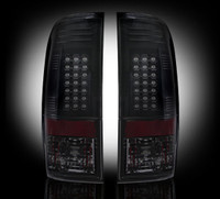 1999 - 2007 Ford Recon Smoked LED Tail Lights