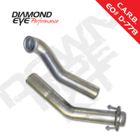 "Ford 94-97 Diamond Eye two-piece 3"" Down Pipe Aluminized"