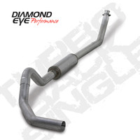 "Diamond Eye 4"" Turbo Back Aluminized Exhaust 1994-2002 5.9"