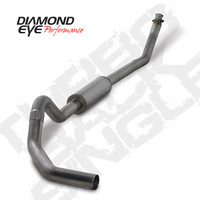 "Diamond Eye 4"" Turbo Back Stainless Exhaust 1994-2002 5.9"