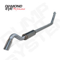 "Diamond Eye 4"" Turbo Back Turn Down Stainless Exhaust 1994-2002 5.9"