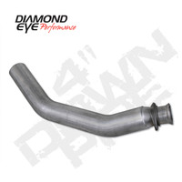 "Diamond Eye 4"" Aluminum Down Pipe 1994-2002 5.9"