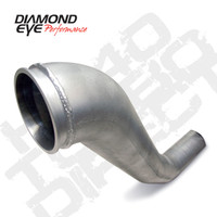 "Diamond Eye 4"" HX40 Aluminum Down Pipe 1994-2002 5.9"
