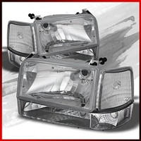 Complete Performance OBS 6 Piece Clear Headlight Kit