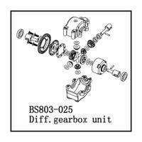 Redcat Racing Part Number BS803-025A