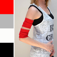 Red Cotton Arm Bands