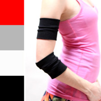Black Cotton Arm Bands