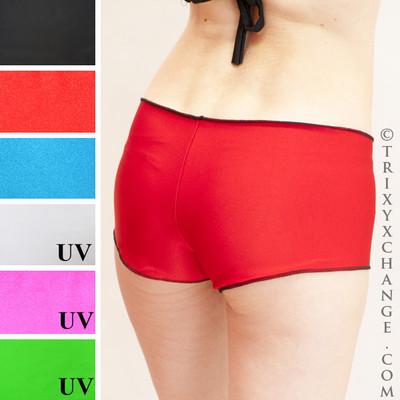 Red Shimmer with Reversed Black Shimmer.