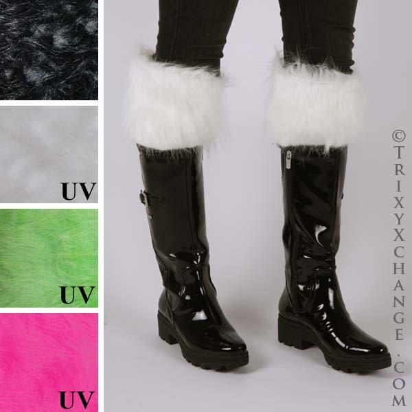 ab794e01aa2 White Fur Rain Boot Liners