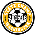 State Champ Soccer Patch 2015-16