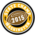 State Champ Football Patch 2015