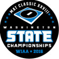 WIAA 2016 Wrestling State Pin