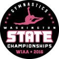 State Gymnastics Pin 2016