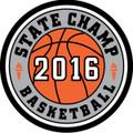 WIAA State Basketball 2016 Champ Patch