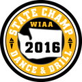 State Dance & Drill 2016 Champ Patch