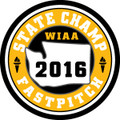 State Fastpitch 2016 Champ Patch