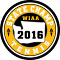 State Tennis 2016 Champ Patch
