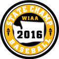 State Baseball 2016 Champ Patch