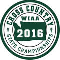 2016 State Cross Country Patch