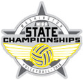 State Volleyball 2016 Pin