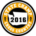 State Cross Country 2016 Champ Patch