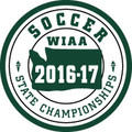 WIAA State Soccer Patch 2016-17