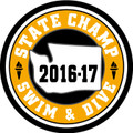 State Swim & Dive 2016-'17 Champ Patch