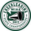 WIAA State Cheerleading Patch 2017