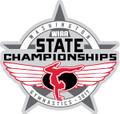 State Gymnastics 2017 Pin