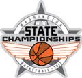 State Basketball Pin 2017
