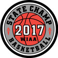 State Basketball 2017 Champ Patch