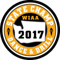 State Dance & Drill 2017 Champ Patch