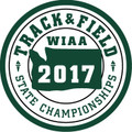 State Track & Field 2017 Patch