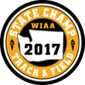 State Track & Field 2017 Champ Patch