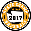 State Baseball 2017 Champ Patch
