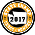 State Cross Country 2017 Champ Patch