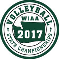 2017 State Volleyball Patch