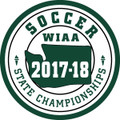 WIAA State Soccer Patch 2017-18