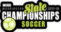 WIAA State Soccer Pin 2017-18