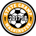 State Soccer 2017-18 Champ Patch