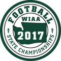 WIAA State Football Patch 2017