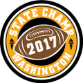 State Football 2017 Champ Patch