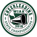 WIAA State Cheerleading Patch 2018