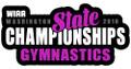WIAA State 2018 Gymnastics Pin