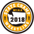 State Wrestling 2018 Champ Patch